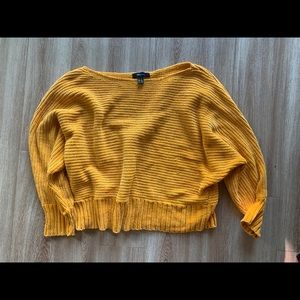 Super soft Yellow Forever21 Sweater